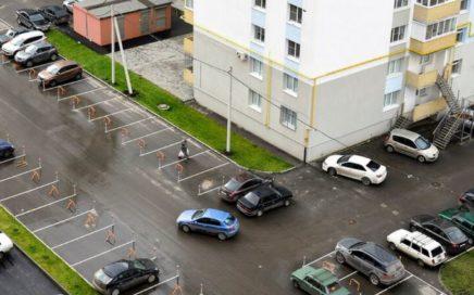 видеонаблюдение парковка многоэтажный дом